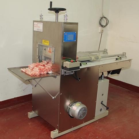 数控2卷羊肉切片机视频