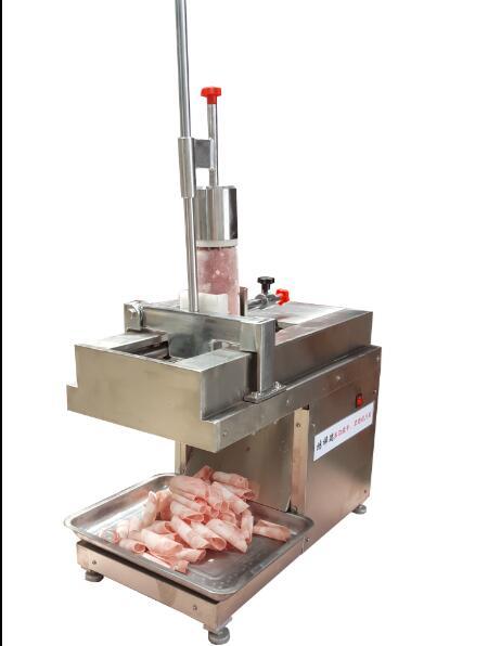 多功能平切1卷羊肉切片机视频